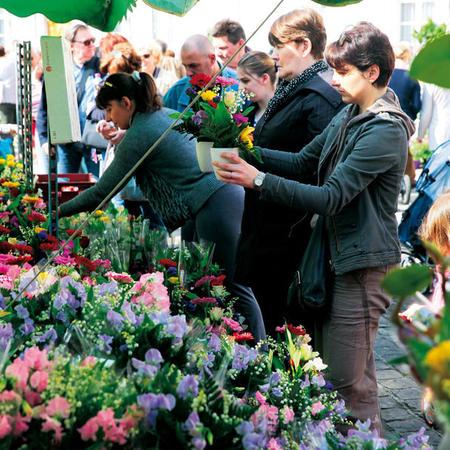 Le Marché aux fleurs - 1er mai