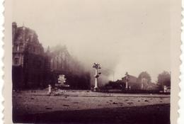 La gare d'Arras sous les bombes – 27 avril 1944 (Fonds doc. Alain Jacques)